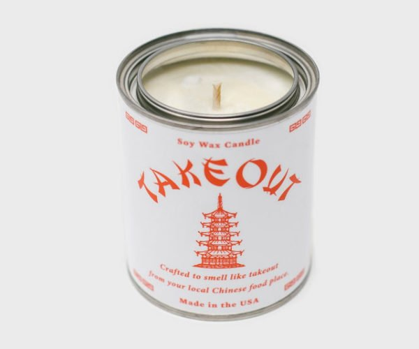 This Candle Smells Like Chinese Takeout Food
