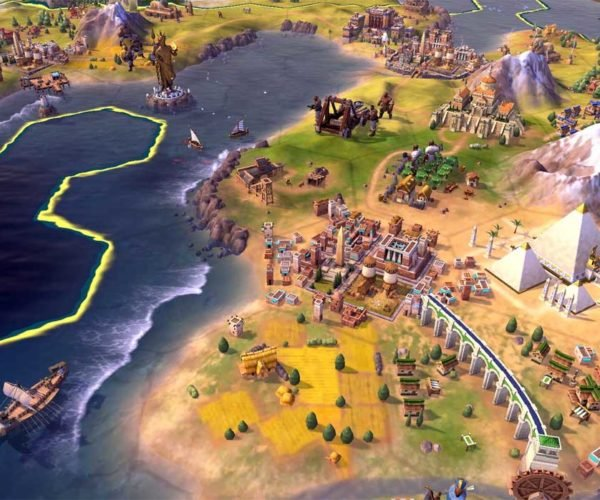 Civilization VI Takes World Domination to Nintendo Switch