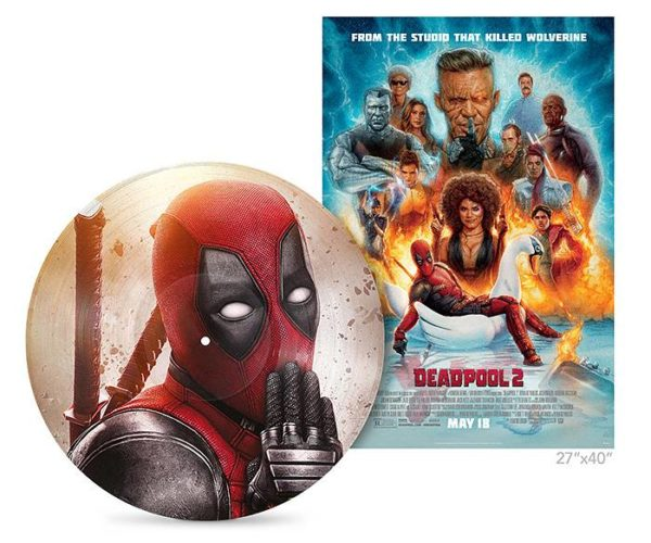 Deadpool 2 Score LP Won't Jam on a Boombox