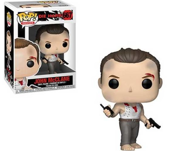 Die Hard John McClane POP! Action Figure Can't Make Fists with his Toes