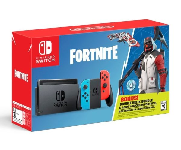 Fortnite Switch Bundle Arrives October 5th