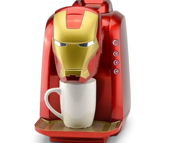 Iron Man Coffee Maker: I'll Take My Coffee Stark, with Two Sugars