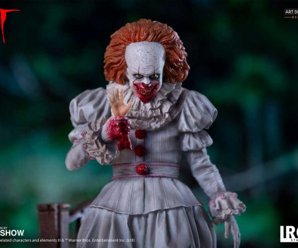 Creepy IT Pennywise Statue Will Haunt Your Sewers