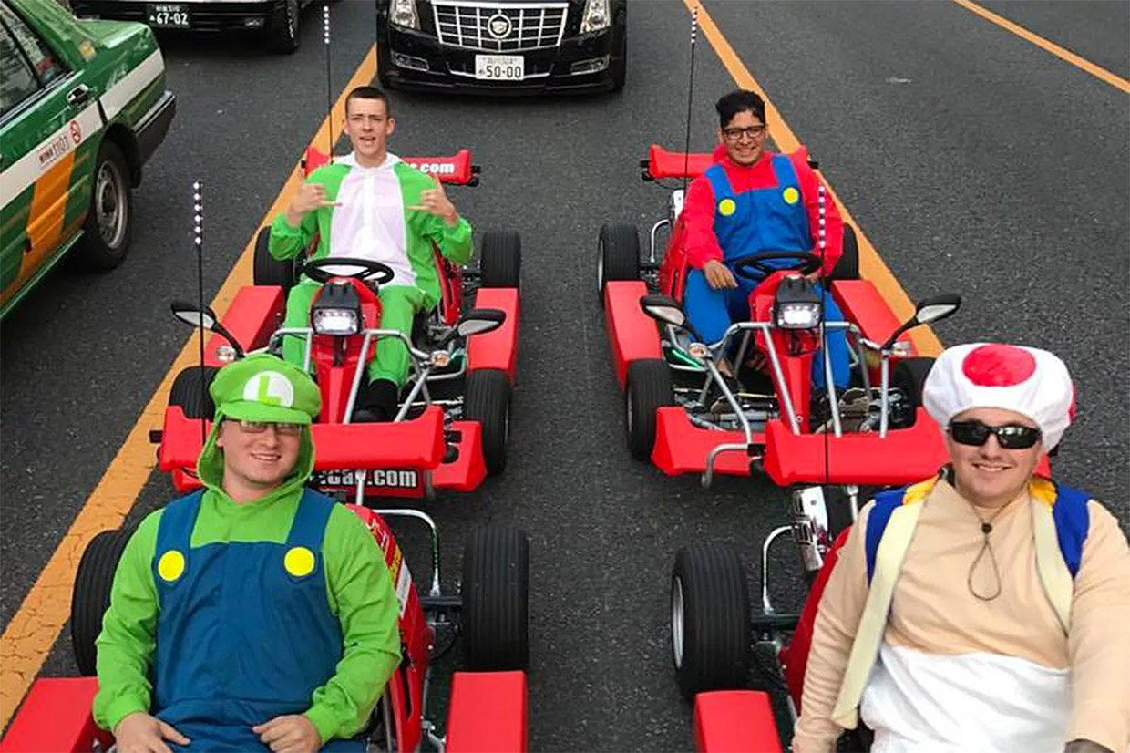 Nintendo wins damage suit against Tokyo Super Mario go-kart business