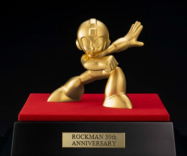 Celebrate Mega Man's 30th Anniversary with a $22,000 Solid Gold Statue