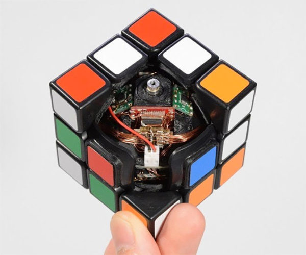 Finally, a Rubik's Cube That Solves Itself