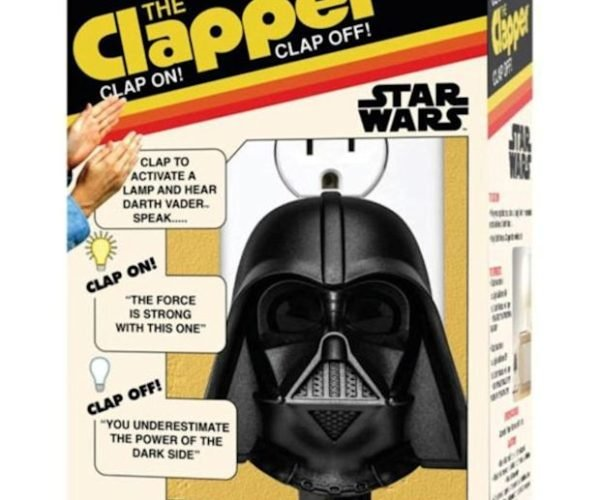 Star Wars Darth Vader Clapper: Turn on Your Lights with the Dark Side