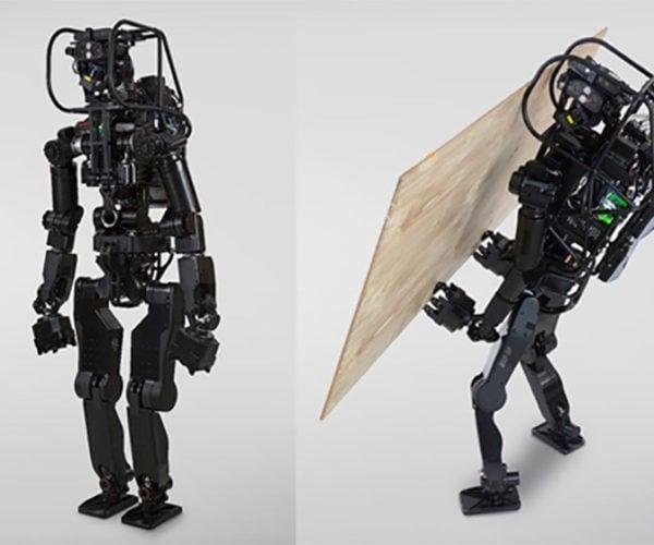 HRP-5P Humanoid Robot Now Has Screwdriver Capabilities