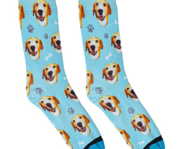 DivvyUp Will Put Your Dog's Face on Your Socks