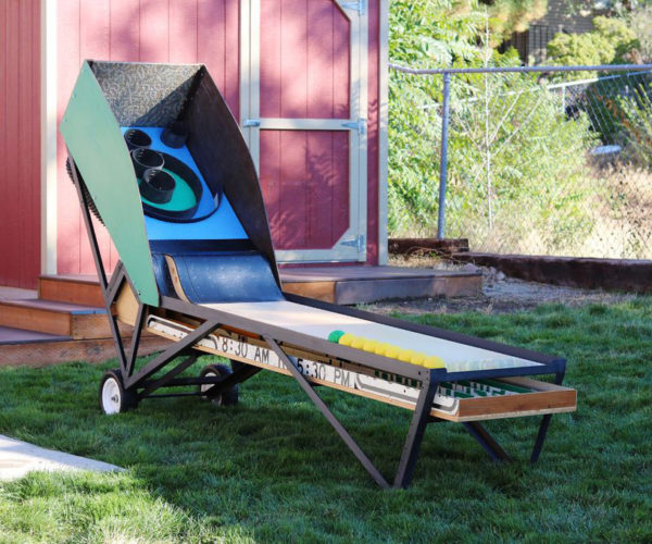 DIY Portable Skee-Ball Machine Doesn't Dispense Tickets