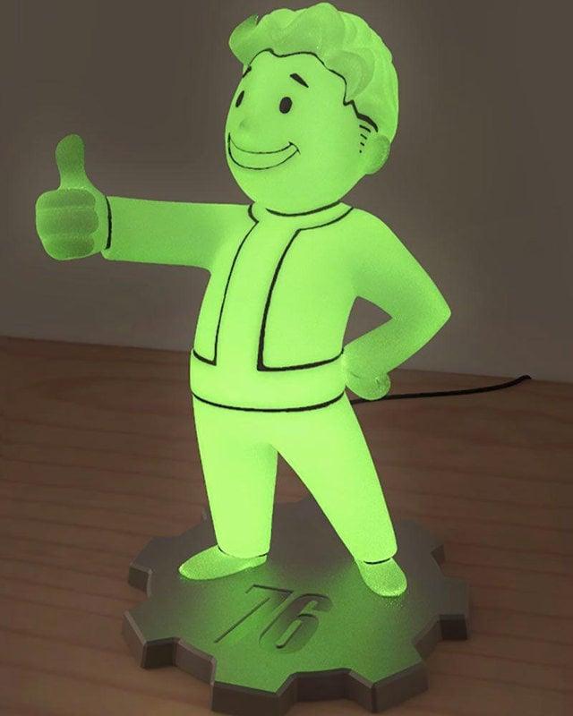 Fallout 76 Light Up Vault Boy