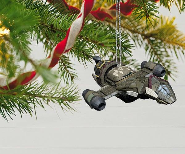 Firefly Christmas Ornament Makes it Shiny