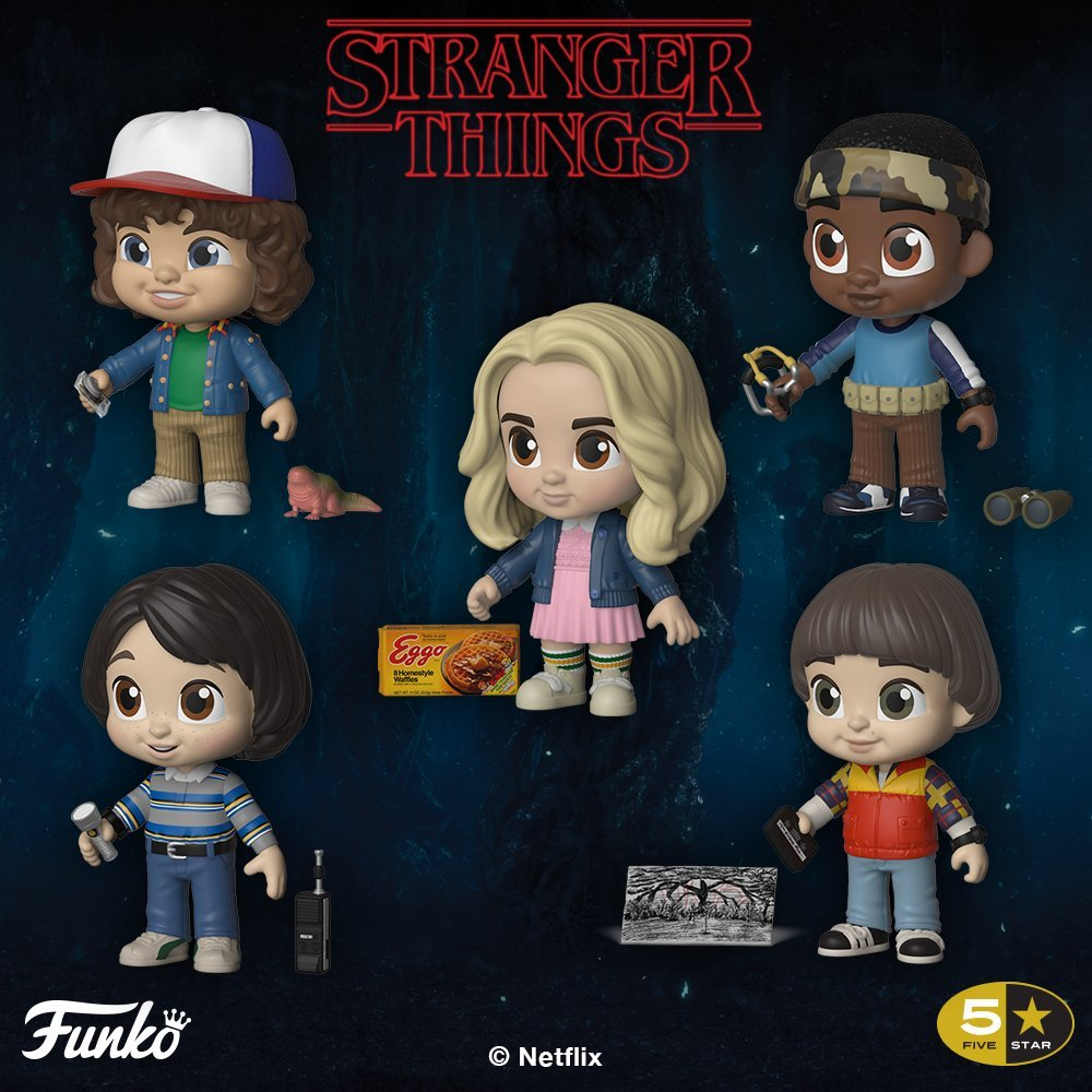 Stranger Things 2018 Funko Collection Turns Wallets Upside