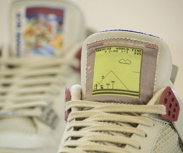 Game Boy Air Jordans: Nintenshoes