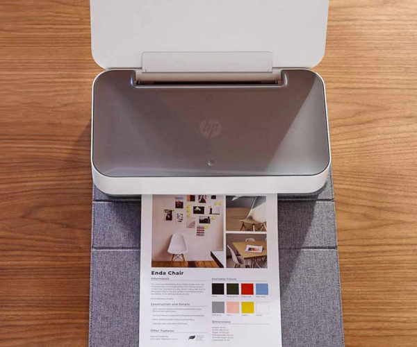 HP's Alexa-controlled Tango Printer Looks Like a Book