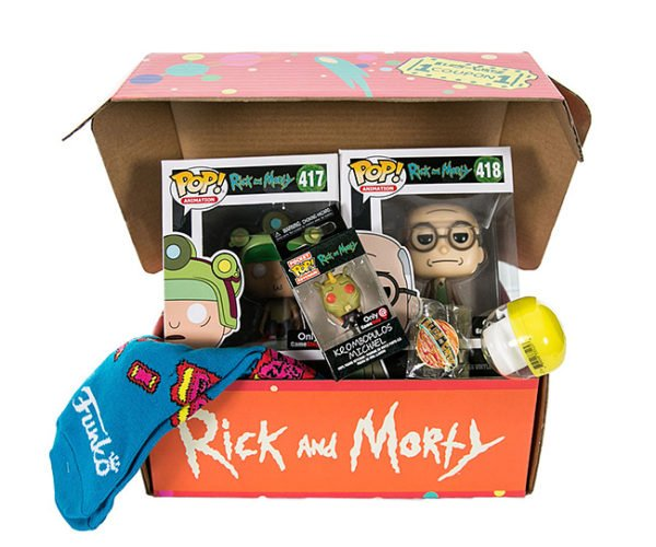 Funko Rick and Morty Mystery Box is Only Slightly Mysterious