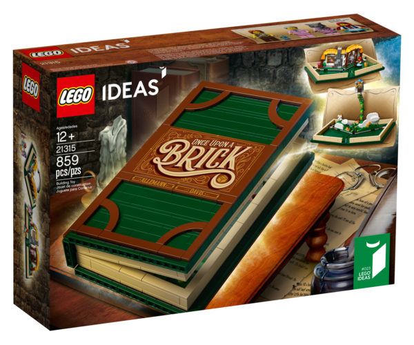 LEGO Ideas Pop-Up Storybook Goes Into Production