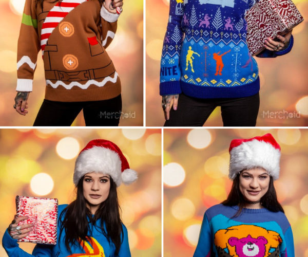 Fortnite Holiday Sweaters Bring a Battle Royale to Your Office Xmas Party