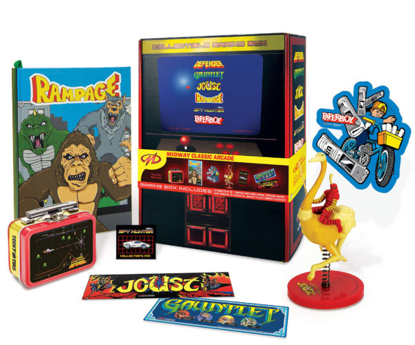 Midway Gaming Box Celebrates Retro Gaming