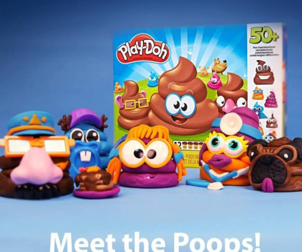 Play-Doh Drops a Deuce with Their Poop Emoji Playset