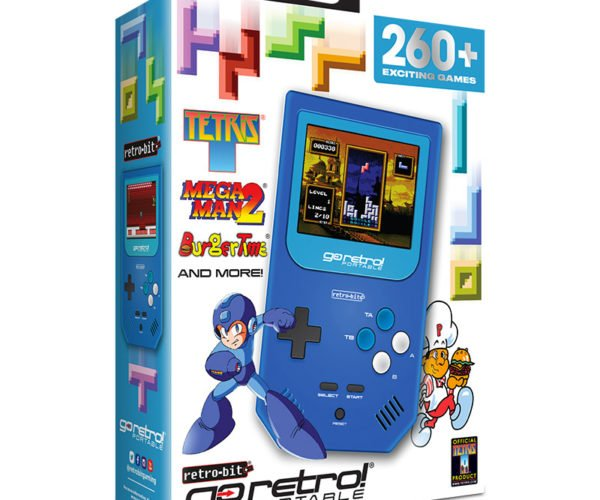 Retro-Bit Go Retro! Handheld Packs 260 Games for $35