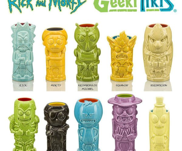 39da9be88ad2b6 Rick And Morty Tiki Mugs  Drinking in the Multiverse