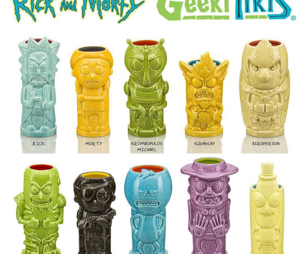 Rick And Morty Tiki Mugs: Drinking in the Multiverse