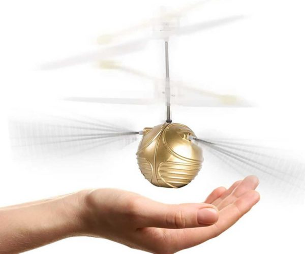 You Won't Need a Broomstick to Catch This Harry Potter Snitch Drone
