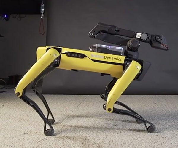 Boston Dynamics' SpotMini Robot Wants to Uptown Funk You Up