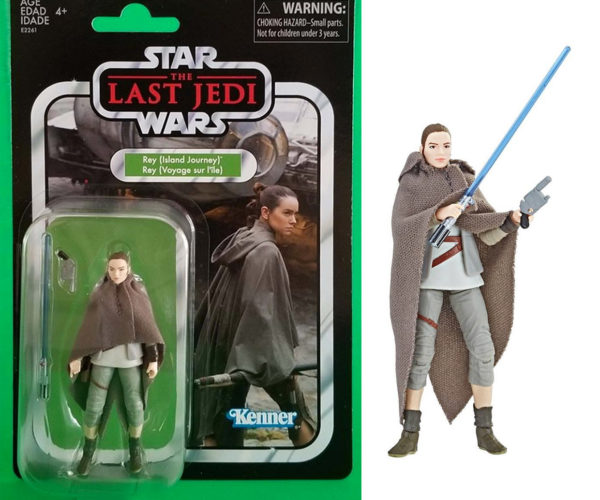 Star Wars The Vintage Collection Rey Action Figure Looks Like the '70s