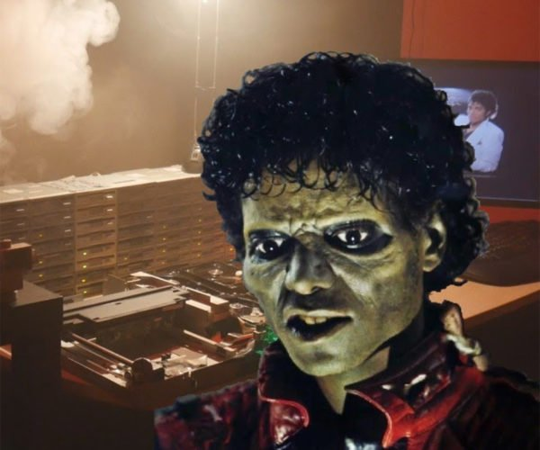 "Floppotron Plays Michael Jackson's ""Thriller"" aka The Funk of 40 Floppy Disks"