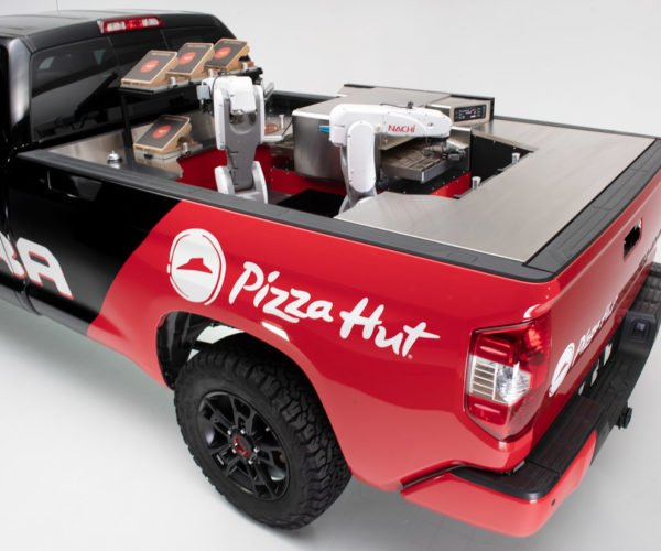 Toyota Tundra PIE Pro Has Pizza-Making Robots On Board