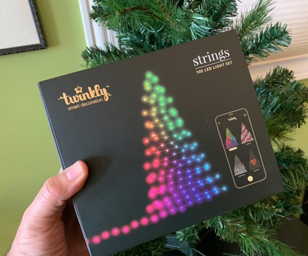 Twinkly 2.0 Digital Christmas Lights Review: Deck the Halls with RGB LEDs