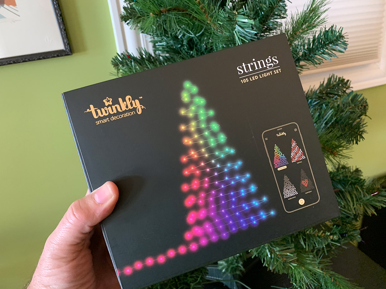 i got my hands on a set of twinklys latest generation lights to see what they could do each twinkly light string is strung with dozens of bright rgb leds