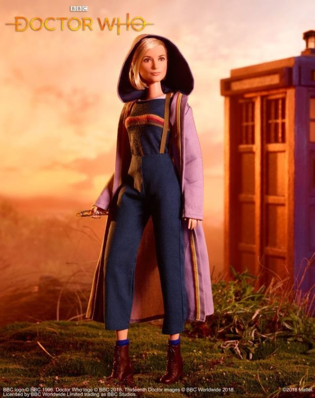 Jodie Whittaker Doctor Who Barbie Doll: Mattel Calling Orson... - Technabob