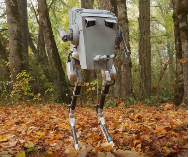 Cassie Humanoid Legs Robot Becomes an AT-ST