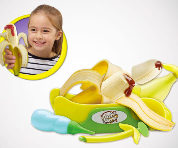 Banana Surprise Fills Your Bananas with Other Stuff