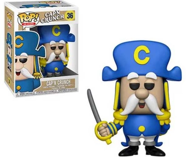 Cap'N Crunch Pop! Action Figure Needs More Crunch Berries