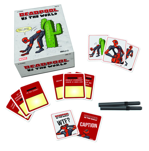 Deadpool vs The World Card Game is Perfect for Adult Game Night - Technabob