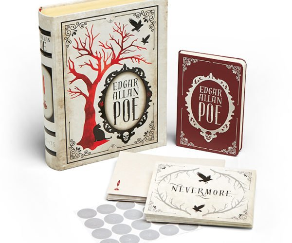 Once Upon a Midnight Dreary Came this Edgar Allen Poe Notecard Set