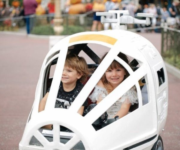 Rent a Millennium Falcon Carriage Stroller For Florida Disney Park Visits