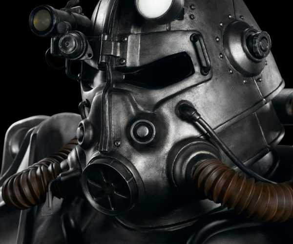 This Life-Size Fallout T-45 Power Armor Bust Will Intimidate Your Houseguests