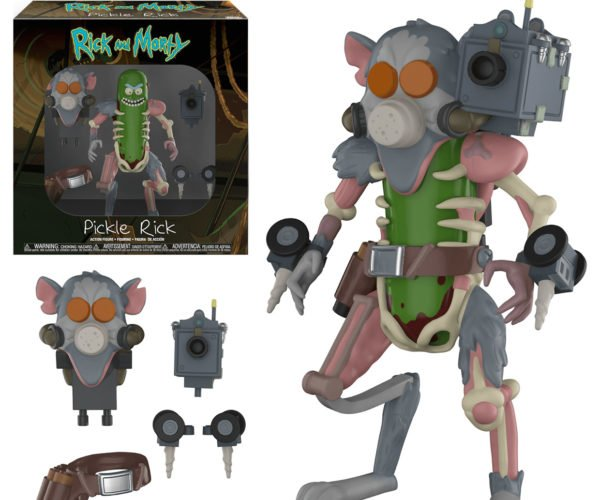 Rick and Morty Pickle Rick Figure Is Ready to Take on The Rat King