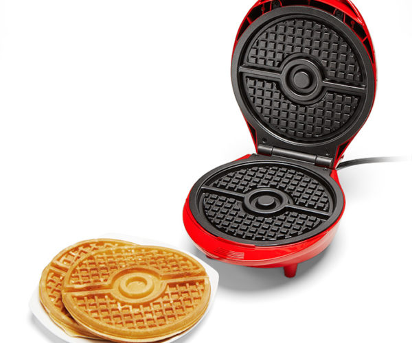 Pokémon Poke Ball Waffle Maker: Breakfast, I Choose You!
