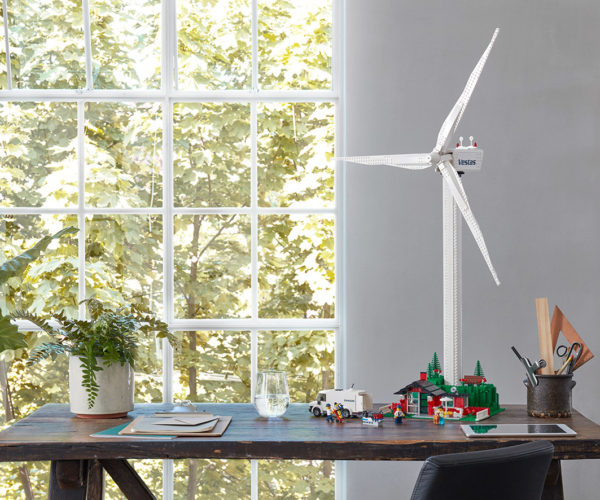 LEGO Wind Turbine Set Includes First Plant-based Plastic Parts