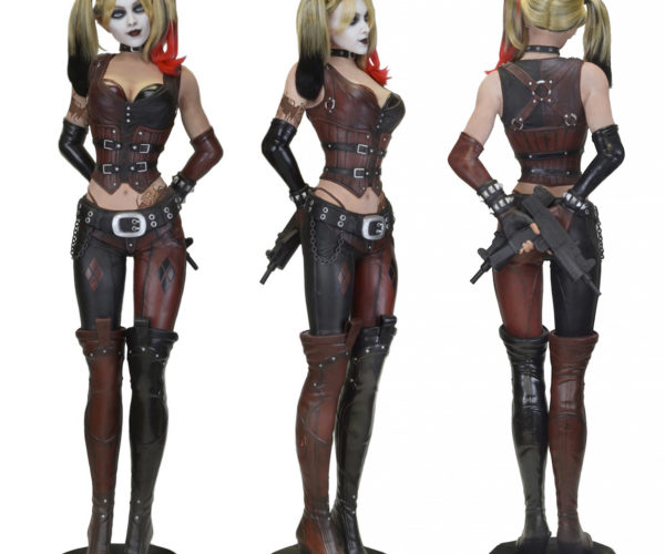 Life-size Batman: Arkham City Harley Quinn for Real-life Jokers