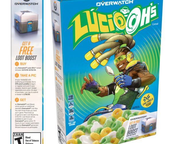 Overwatch Lucio-Oh's Cereal Is Part of a Nutritious Breakfast