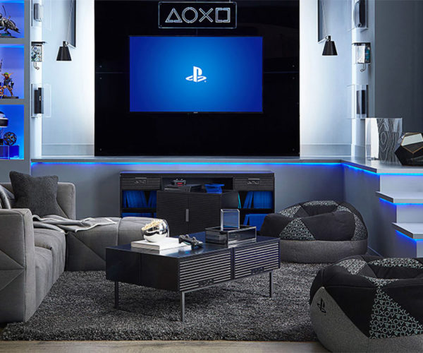 Official Sony PlayStation Furniture: Live in Your World, Play in Yours Too