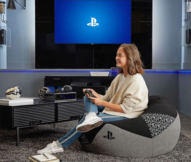 Ultimate Game Room: Official Sony PlayStation Furniture: Live In Your World