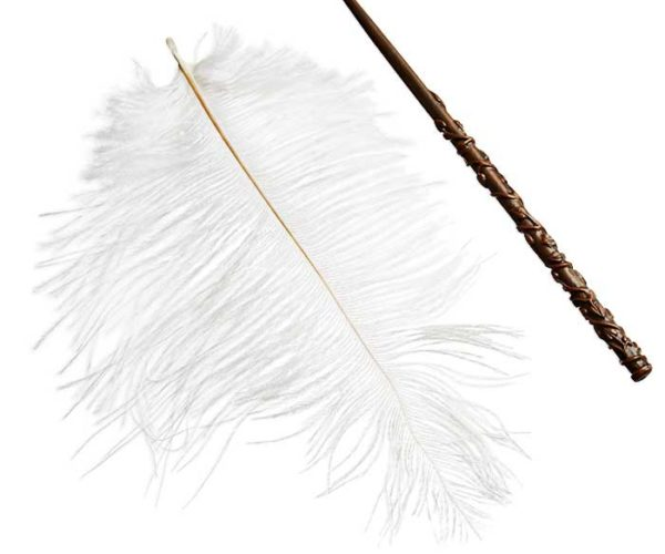Harry Potter Wingardium Leviosa Floating Feather Won't Teach You Wizardry